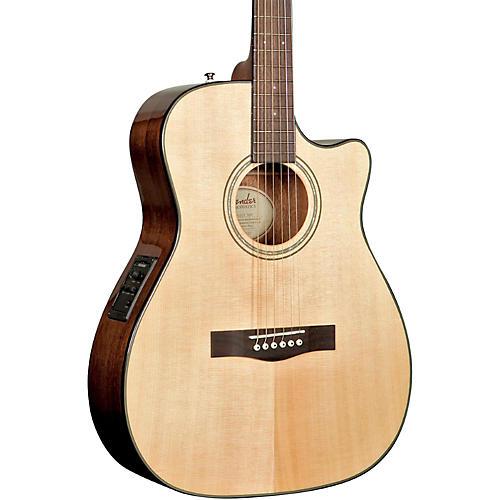 Fender Classic Design Series CF-140SCE Cutaway Folk Acoustic-Electric Guitar
