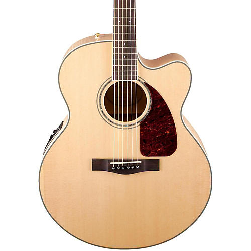 Fender Classic Design Series CJ-290SCE Cutaway Jumbo Acoustic-Electric Guitar-thumbnail