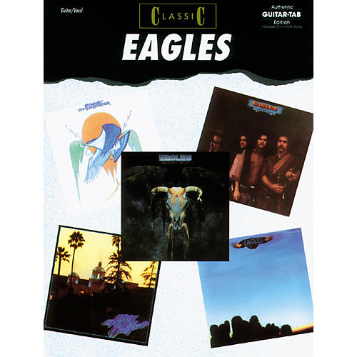 Alfred Classic Eagles Guitar Tab Book