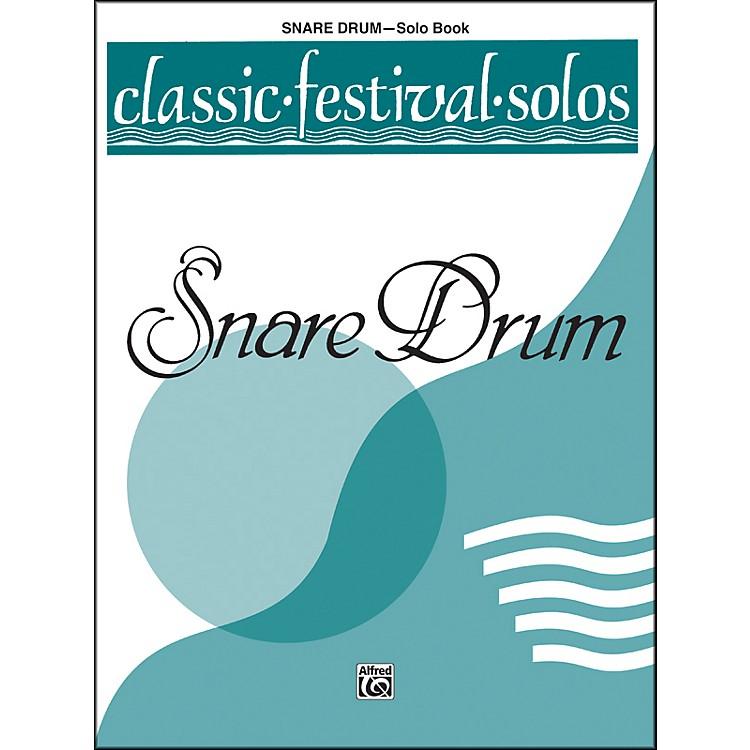 AlfredClassic Festival Solos (Snare Drum) Volume 1 Solo Book