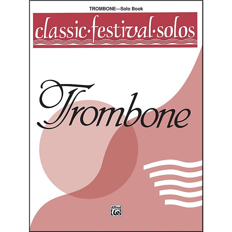 AlfredClassic Festival Solos (Trombone) Volume 1 Solo Book
