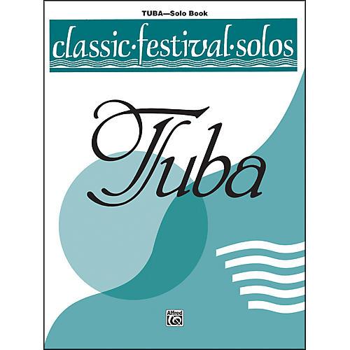 Alfred Classic Festival Solos (Tuba) Volume 2 Solo Book