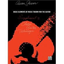 Alfred Classic Guitar Technique Supplement 2 Book