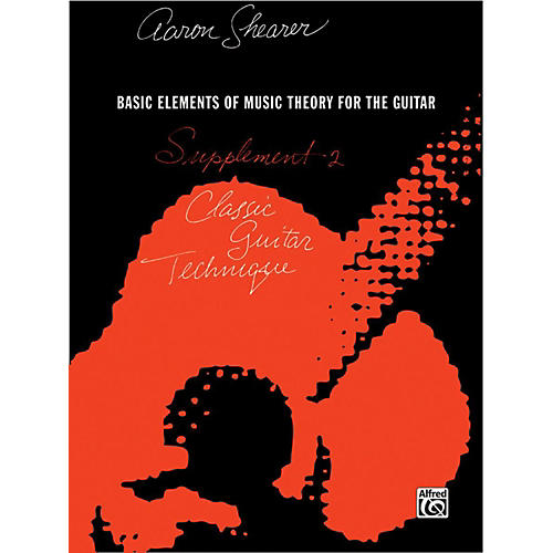 Alfred Classic Guitar Technique Supplement 2 Book-thumbnail