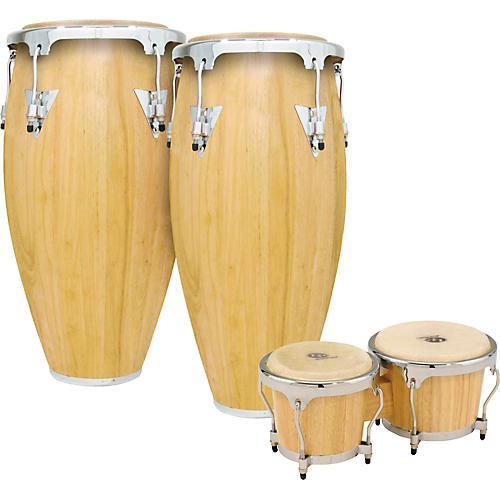 LP Classic II 2-Piece Conga Set with Bongos