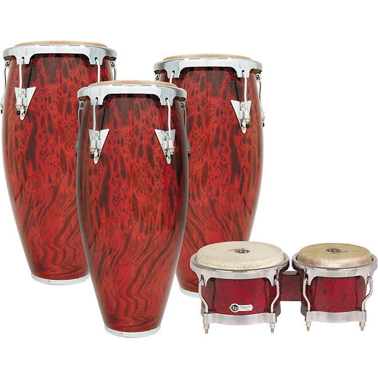 LP Classic II 3-Piece Conga Set with Bongos