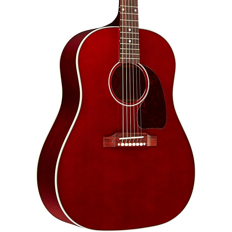 Gibson Classic J-45 Standard Limited Edition Acoustic-Electric Guitar Wine Red