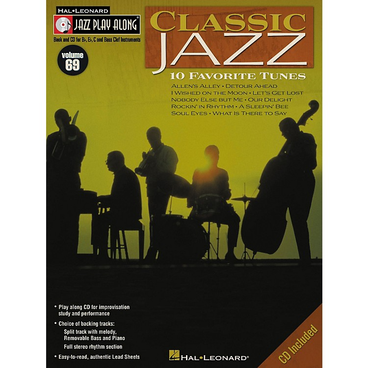Hal Leonard Classic Jazz - Jazz Play Along Volume 69 Book with CD