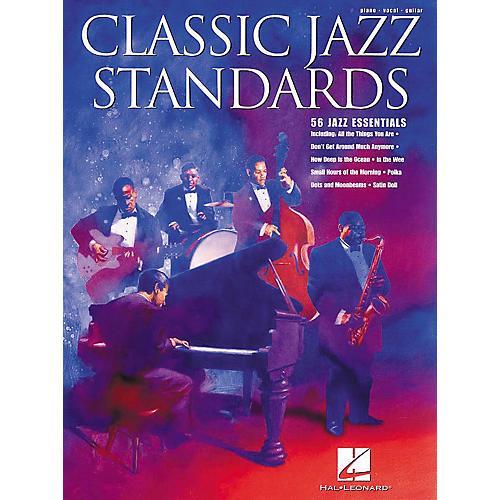 Hal Leonard Classic Jazz Standards Songbook