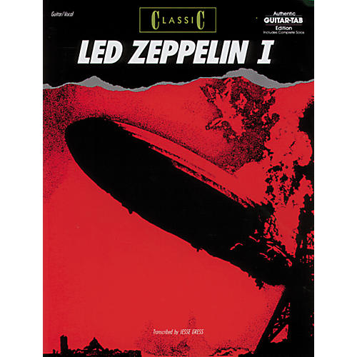Alfred Classic Led Zeppelin I Book