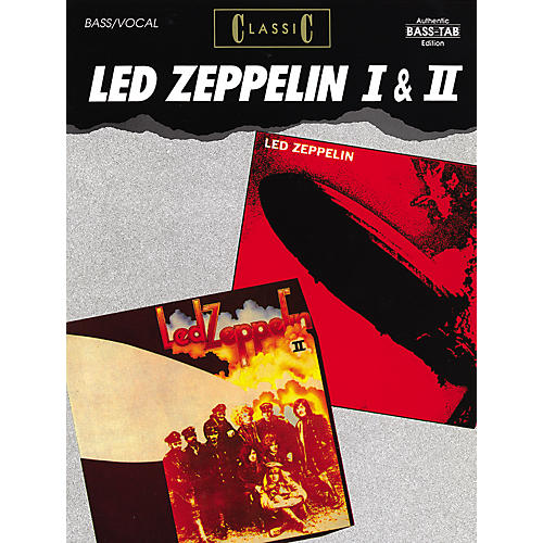 Alfred Classic Led Zeppelin I & II Bass Guitar Tab Songbook-thumbnail