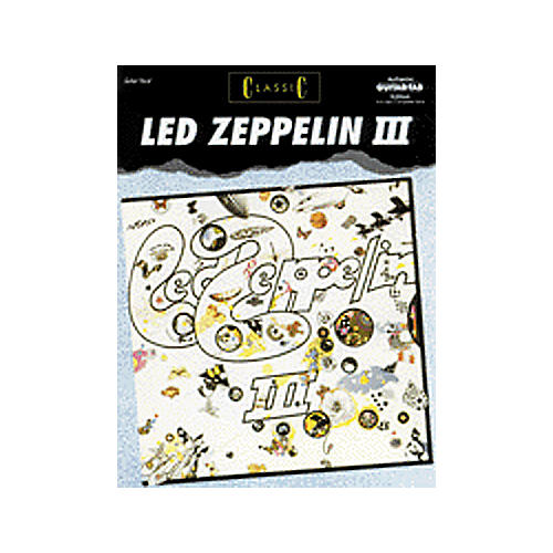 Alfred Classic Led Zeppelin III Guitar Tab Book