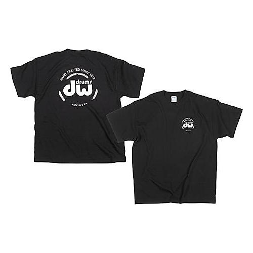 DW Classic Logo T-Shirt Black Extra Extra Large