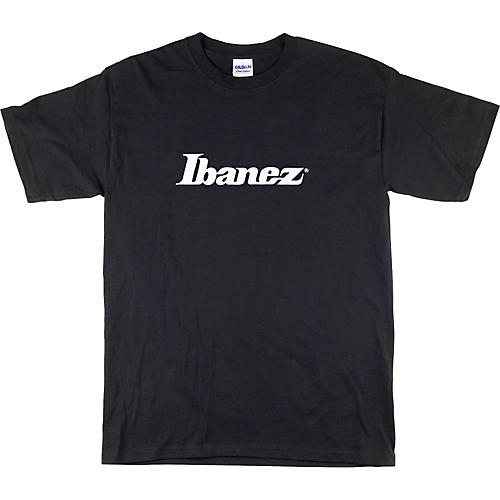 Ibanez Classic Logo T-Shirt Black Medium