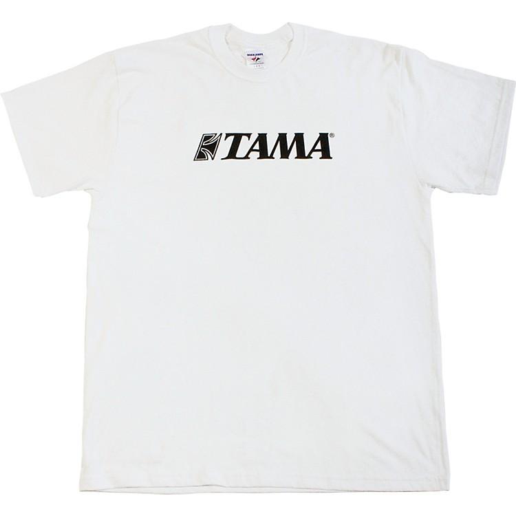 TamaClassic Logo T-ShirtWhiteMedium