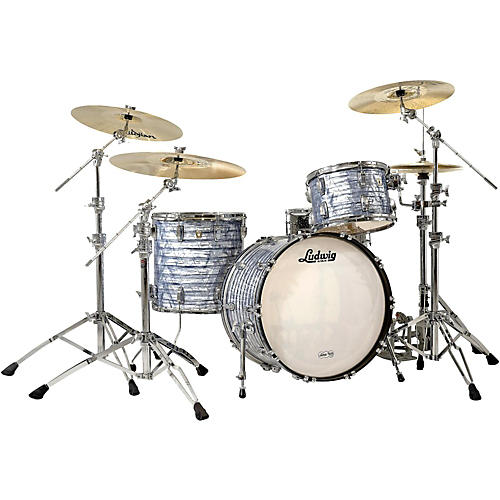 Ludwig Classic Maple 3-Piece Shell Pack Sky Blue Pearl