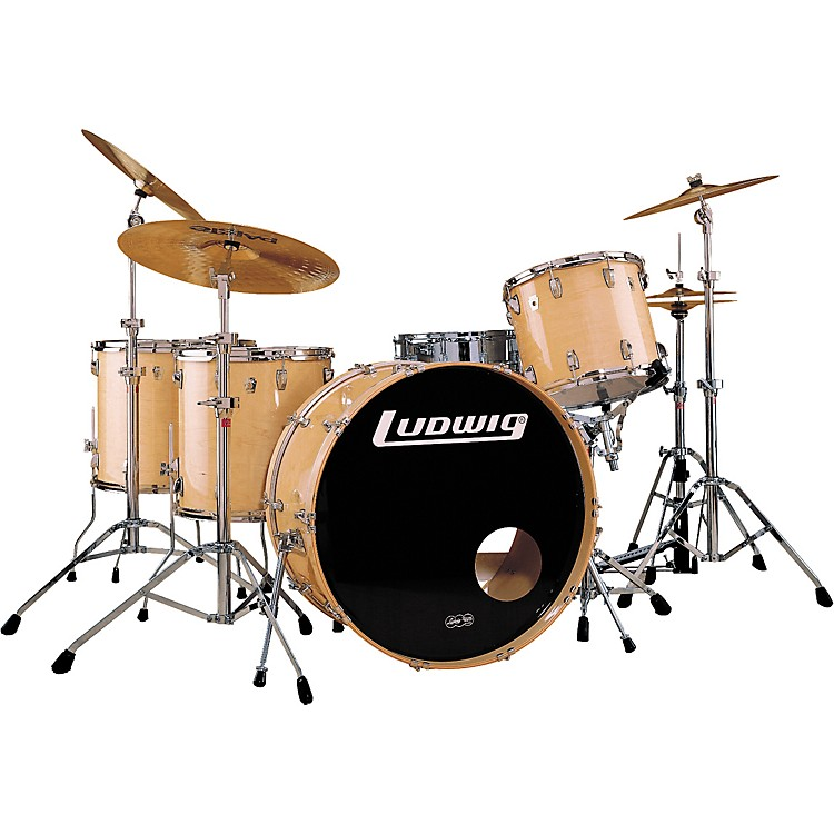 Ludwig classic maple 5 piece drum set musician 39 s friend for Classic house drums