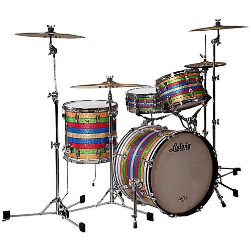 Ludwig classic maple salesman 3 piece shell pack for Classic house drums