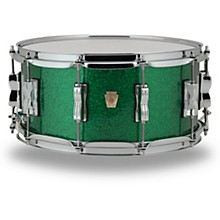 Ludwig Classic Maple Snare Drum 14 x 6.5 in. Green Sparkle
