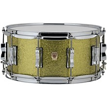 Ludwig Classic Maple Snare Drum 14 x 6.5 in. Olive Sparkle