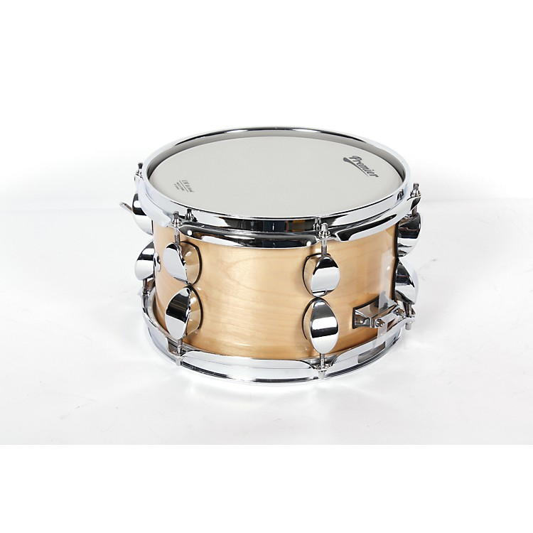 Premier Classic Maple Snare Drum Natural Lacquer 10x6
