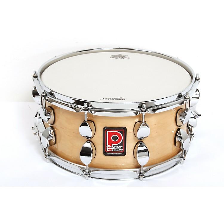 PremierClassic Maple Snare DrumNatural Lacquer14x6.5