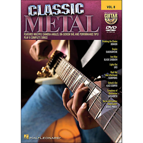 Hal Leonard Classic Metal - Guitar Play-Along DVD Volume 8 (DVD)