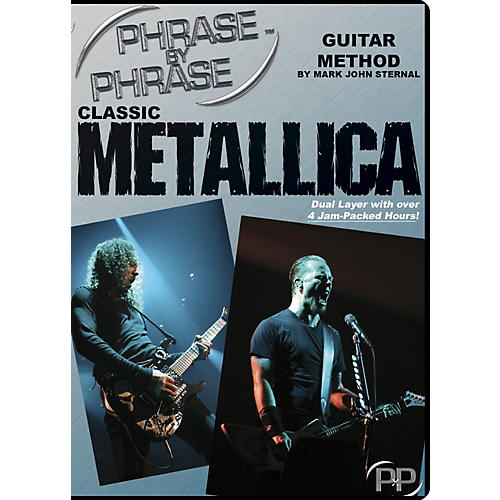 MJS Music Publications Classic Metallica: Phrase by Phrase Guitar Method DVD