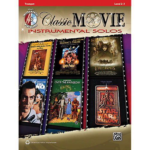 Alfred Classic Movie Instrumental Solos Trumpet Play Along Book/CD-thumbnail