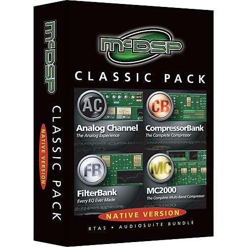 McDSP Classic Pack Software Native Version