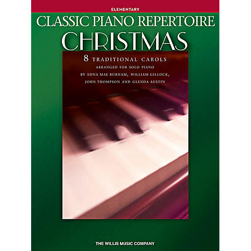 Willis Music Classic Piano Repertoire: Christmas Elementary Level Piano Songbook-thumbnail
