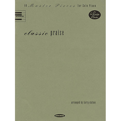 Word Music Classic Praise (10 Master Pieces for Solo Piano) Sacred Folio Series-thumbnail