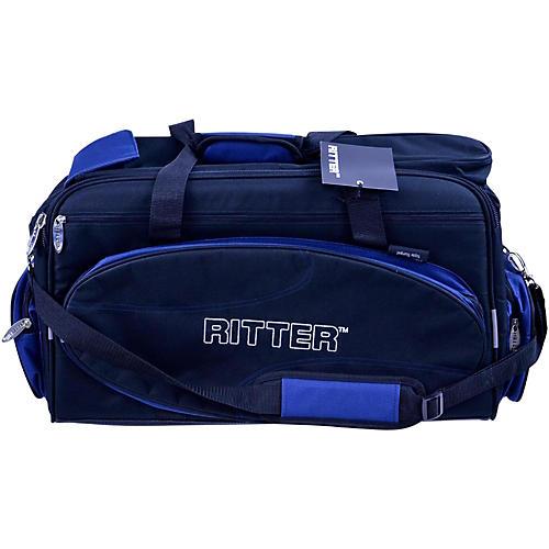 Ritter Classic RCB700-9-TTR/BU 700 Series Triple Trumpet Gig Bag - Black/Ultra Marine-thumbnail