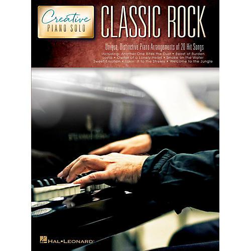 Hal Leonard Classic Rock - Creative Piano Solo Songbook