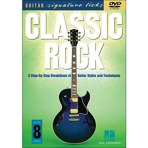Hal Leonard Classic Rock - Guitar Signature Licks DVD