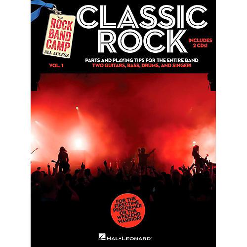 Hal Leonard Classic Rock - Rock Band Camp Vol. 1 (Book/2-CD Pack) Vocal, 2 Guitars, Bass, Drums-thumbnail