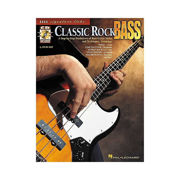 Hal Leonard Classic Rock Bass (Book/CD)