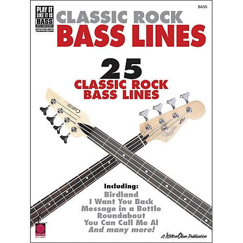 Cherry Lane Classic Rock Bass Lines-thumbnail