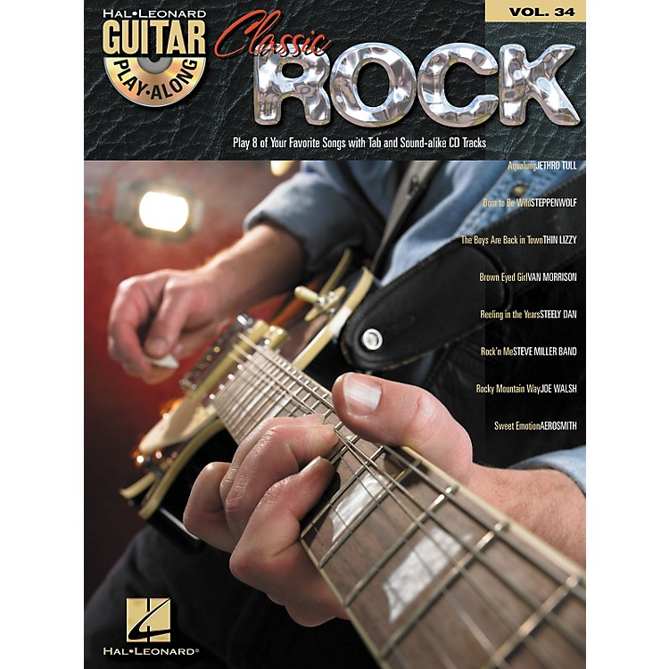Hal Leonard Classic Rock (Book and CD Package)