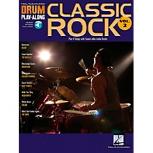 Hal Leonard Classic Rock Drum Play-Along Series Volume 2 Book with Online Audio