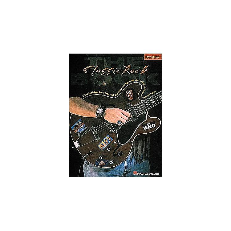 Hal LeonardClassic Rock Easy Guitar Tab Songbook
