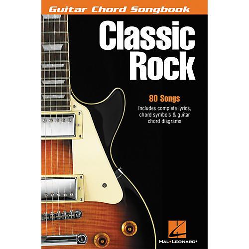 Hal Leonard Classic Rock Guitar Chord Songbook