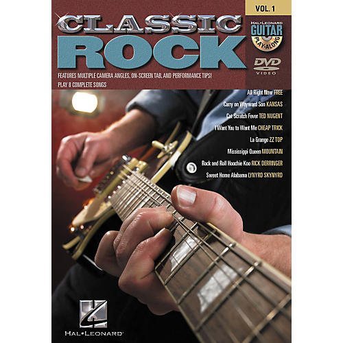 Hal Leonard Classic Rock Guitar Play-Along DVD Series - Volume 1