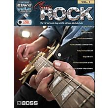 Hal Leonard Classic Rock Guitar Play-Along Volume 1 (Boss eBand Custom Book with USB Stick)