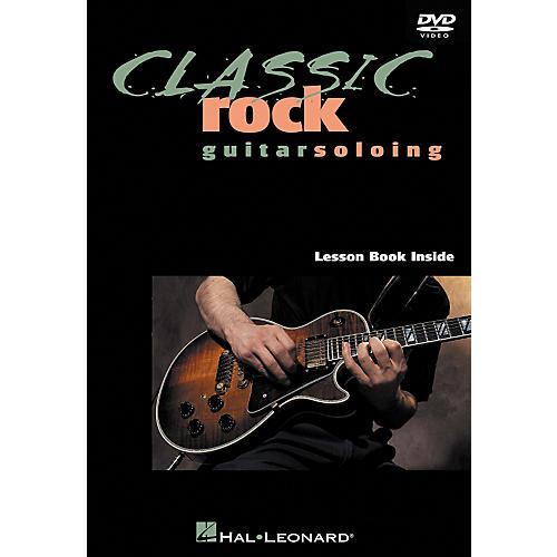 Hal Leonard Classic Rock Guitar Soloing DVD