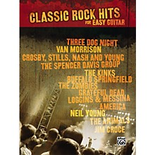 Alfred Classic Rock Hits Easy Guitar Tab Songbook