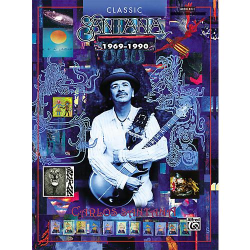 Alfred Classic Santana 1969-1990 Book