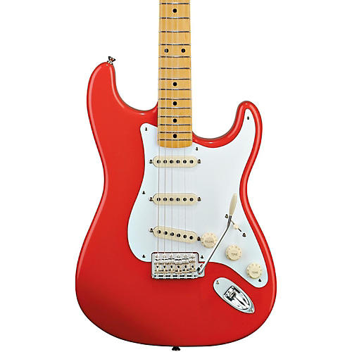 Fender Classic Series '50s Stratocaster Electric Guitar Fiesta Red Maple Fretboard
