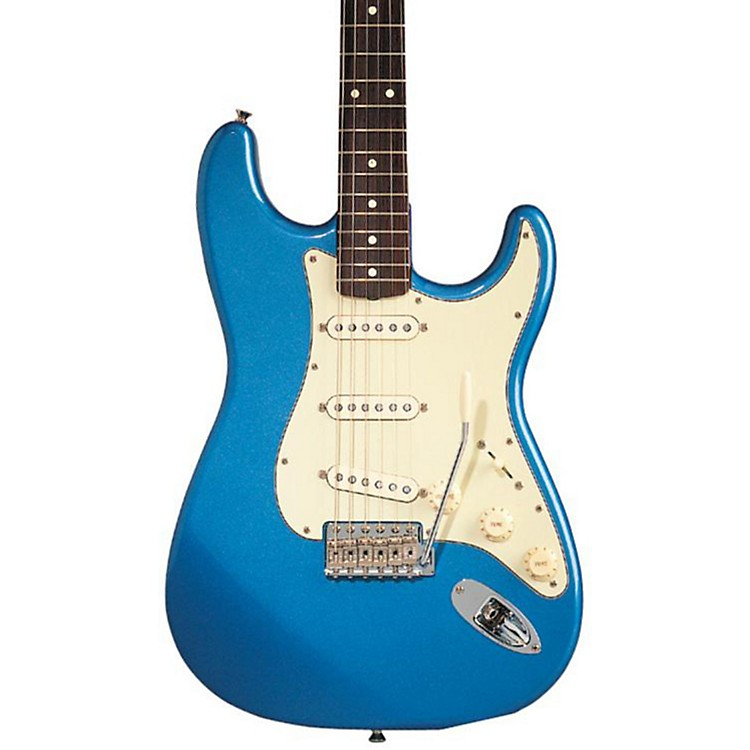 Fender Classic Series '60s Stratocaster Electric Guitar Lake Placid Blue Rosewood Fretboard