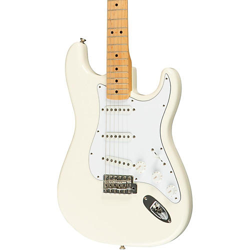 Fender Classic Series '70s Stratocaster Electric Guitar Olympic White Maple Fretboard